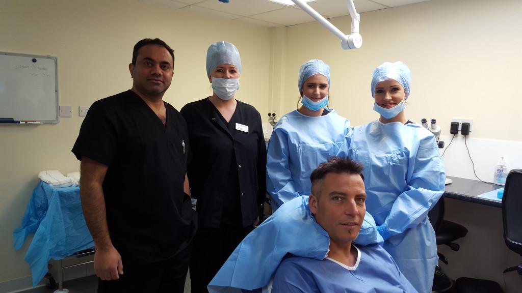Ziering surgery team