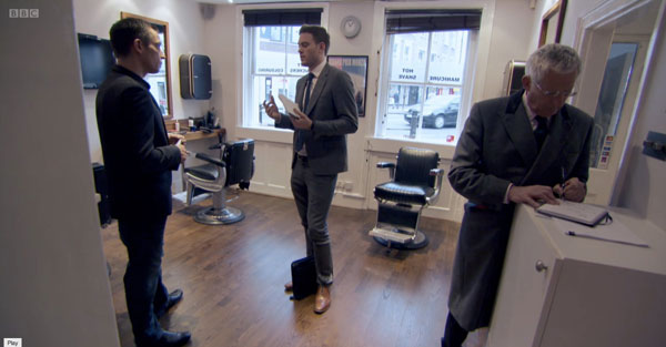 Jason advises Tom on how to create a successful range of Male Grooming products