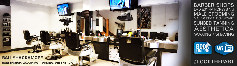 Ballyhackamore barber shop, beauty salon, sunbeds belfast, male grooming